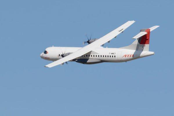 Un avion ATR 72-600, du modèle de celui qui volera bientôt sous le drapeau de Air Sénégal SA. © Photo : ATR Aircraft/ DR