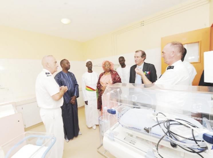Inauguration de la maternité Annette Mbaye d'Erneville de Ouakam : Le Premier ministre salue un geste d'une grande humanité