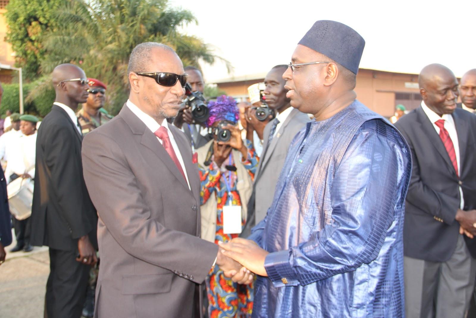 EXCLUSIF-Incident diplomatique: Mankeur Ndiaye tire sur Alpha Condé qui réplique à l'arme lourde