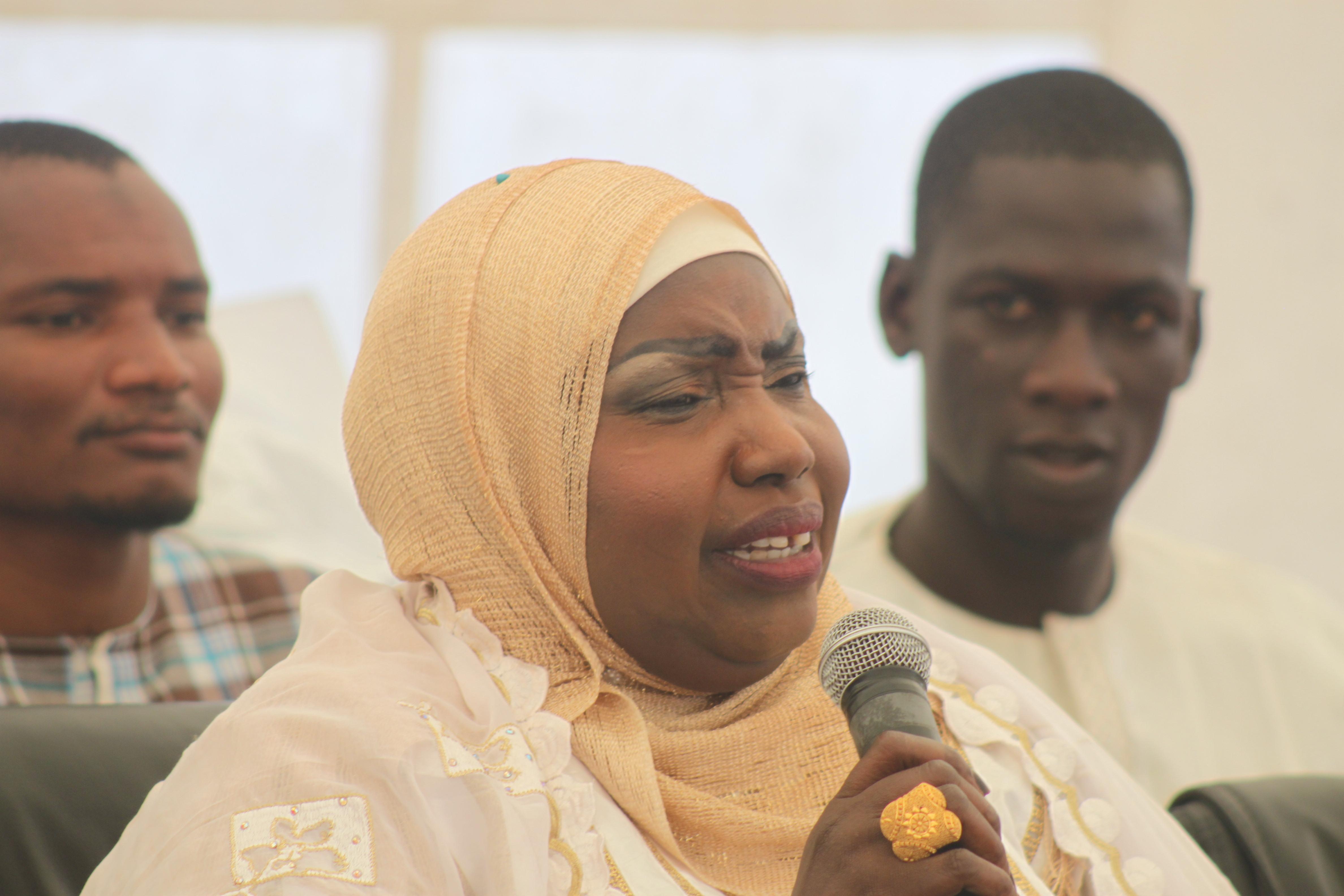 Seyda Fatou Bintou Diop de la TFM en quelques clichés