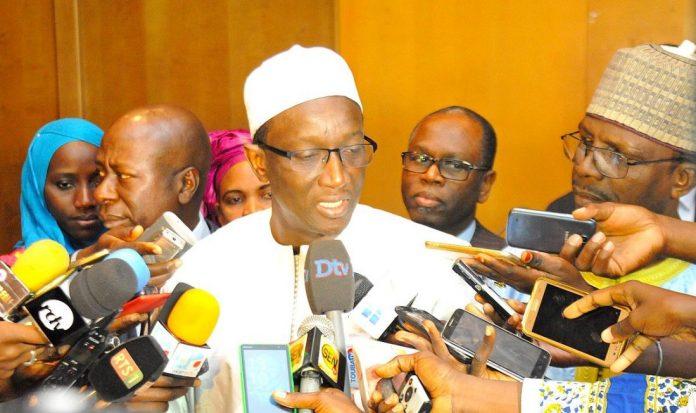 Amadou Bâ, devant une marée humaine : «cette machine BBY, qui carbure à plein régime, va donner la victoire à Macky Sall»
