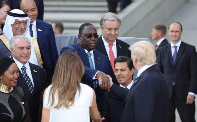 Macky Sall : « 3 centrales solaires déjà en service, 11 projets en cours, au G20, j'ai rappelé l'exemplarité du Sénégal en matière de mix énergétique ».