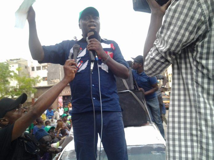 """Bamba Fall : """"la Médina est le fief de """"Mankoo taxawu Senegaal, BBY n'y verra que du feu"""""""