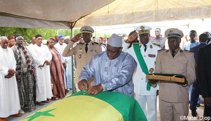 Cheikh Seydi Ababacar Mbengue élevé au rang de chevalier de l'Ordre national du Lion