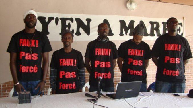 Y en marre demande la démission de Abdoulaye Daouda Diallo et boycotte la marche de Wade