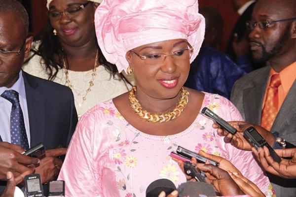 """Maimouna Ndoye Seck: """"Tous ceux qui veulent manifester, ont le droit de le faire..."""""""