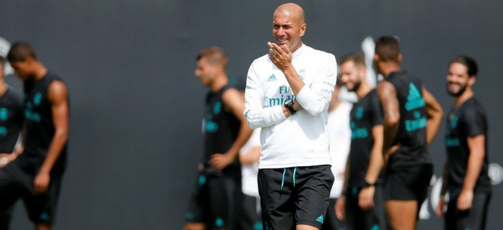 Zidane a échangé avec Pérez pour l'intégration de Mbappé