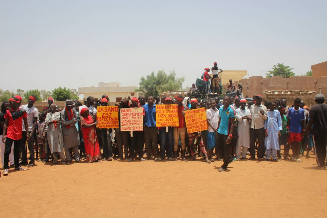 Kanel : La jeunesse se révolte contre les politiciens