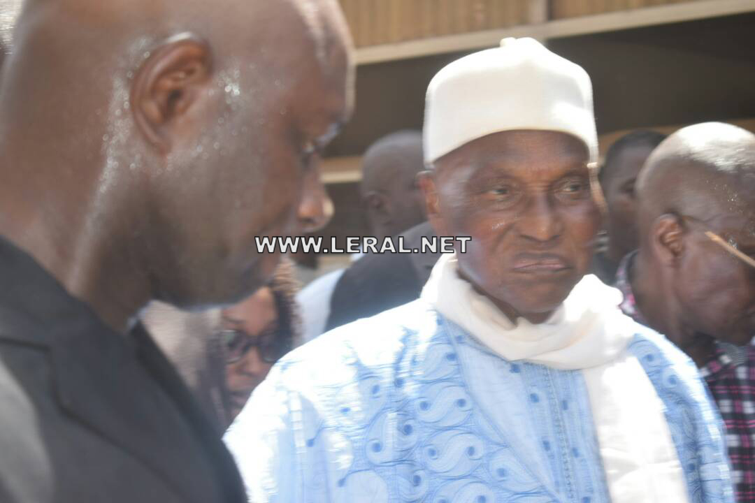 (Photos) Abdoulaye Wade après son vote