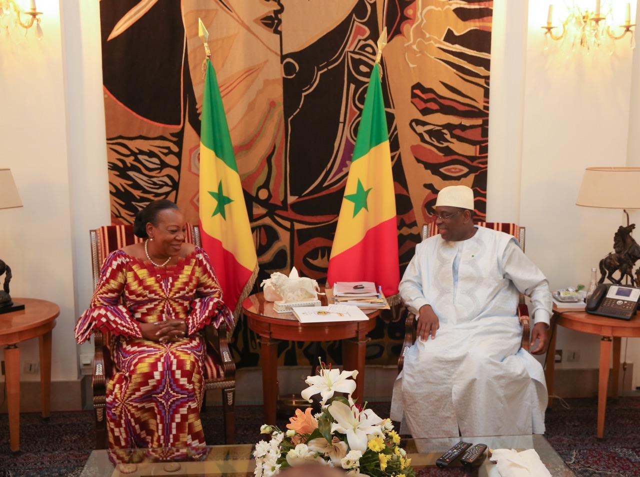 """""""Le scrutin législatif du 30 juillet 2017 a été transparent et s'est bien déroulé de façon générale"""" (Catherine SAMBA PANZA, chef de la mission d'observation de l'Union Africaine)"""