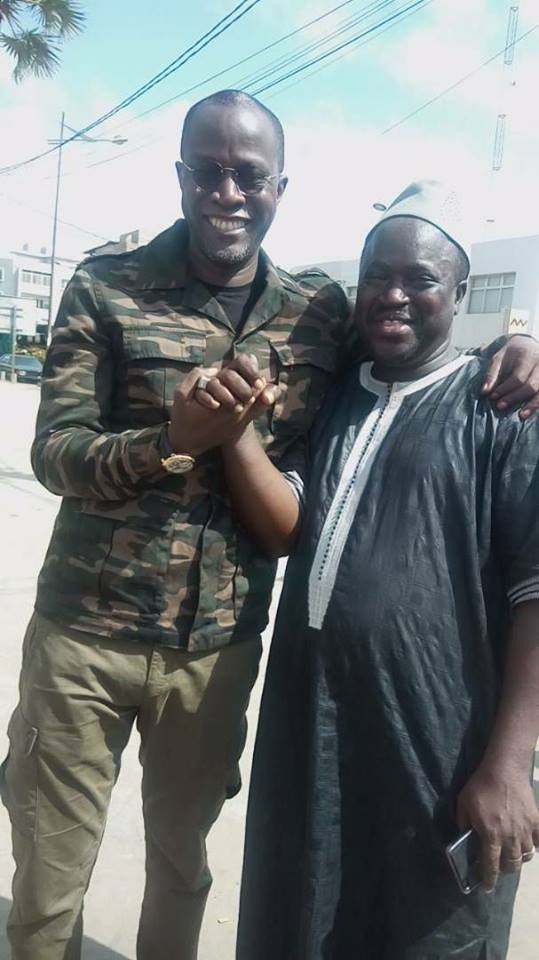 Photos : Après un certain Macky Sall, Yakham Mbaye de BBY en tenue de guerre