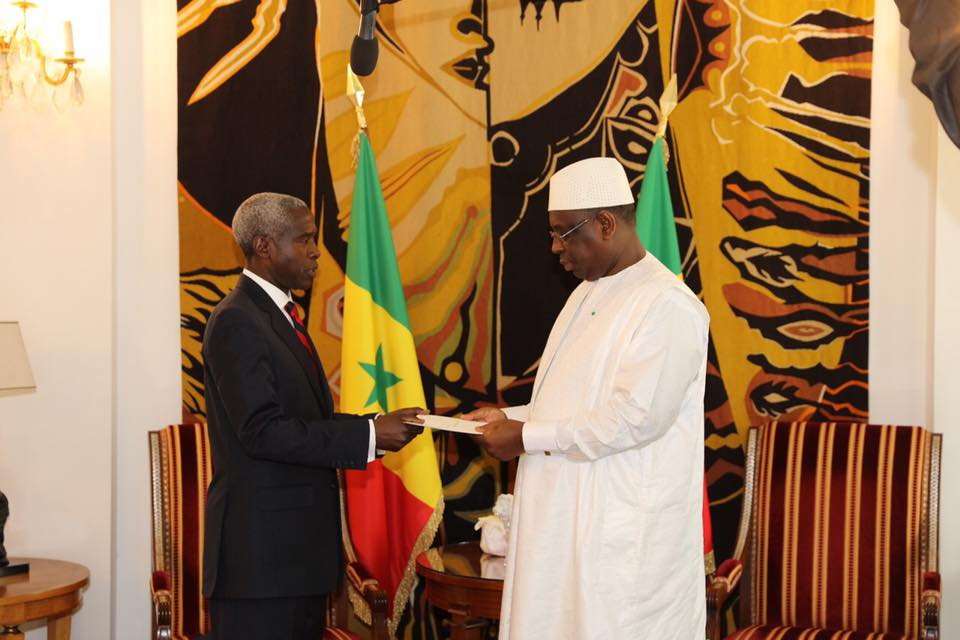 18 photos : SEM Tulinabo Salama MUSHINGI Ambassadeur des USA à Dakar présent ses lettres de créances