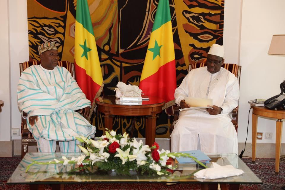 16 photos : SEM Salisu UMARU Ambassadeur Nigéria à Dakar présente ses lettres de créances à Macky Sall