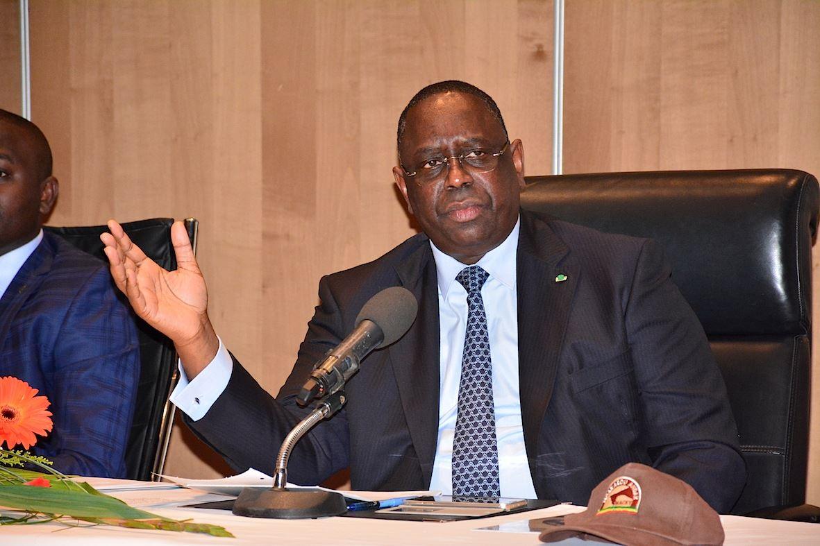 """Macky Sall """"félicite"""" Abdoulaye Daouda Diallo:  """"Les élections ont été bien organisées...nous les avons gagnées"""""""