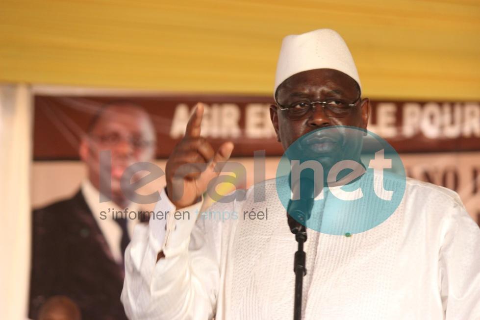 Macky Sall conforte Abdoulaye Daouda Diallo, ignore Wade et prépare 2019