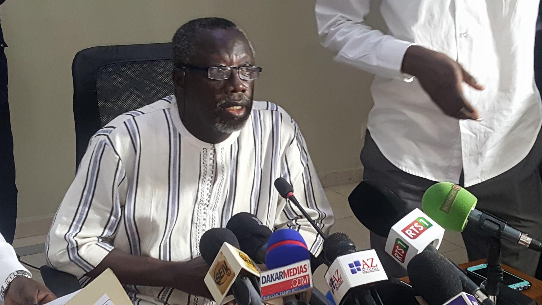 Babou Diaham, directeur de l'Office du Bac