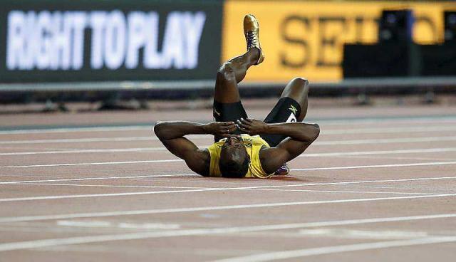 Une fin de carrière de tragédie pour Usain Bolt: la légende se blesse pour sa dernière course dans le relais 4x100m