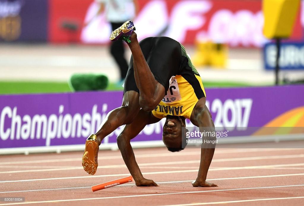 17 photos : Usain Bolt blessé !… Tout ce que vous n'avez pas vu en images