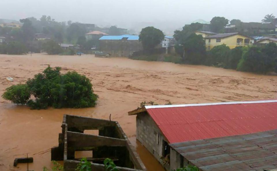 312 morts dans des inondations en Sierra Leone