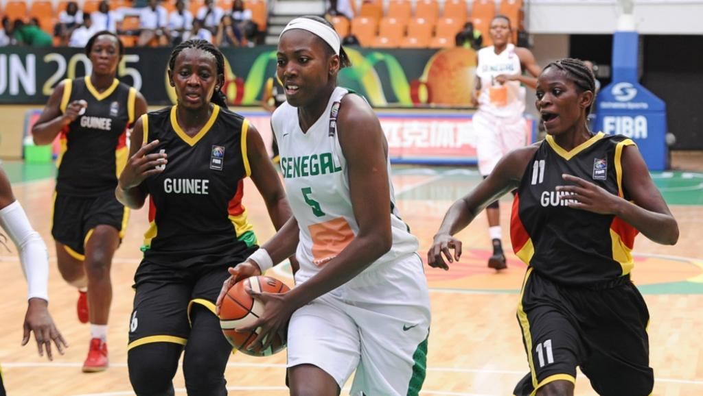 Afrobasket dames:  Le Sénégal sans pitié face à la Guinée