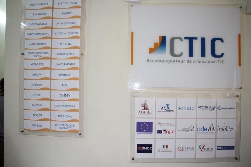 Sonatel participe à l'extension des locaux du CTIC Dakar