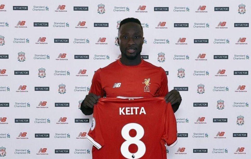 Mercato:  Naby Keita rejoint Sadio Mané à Liverpool