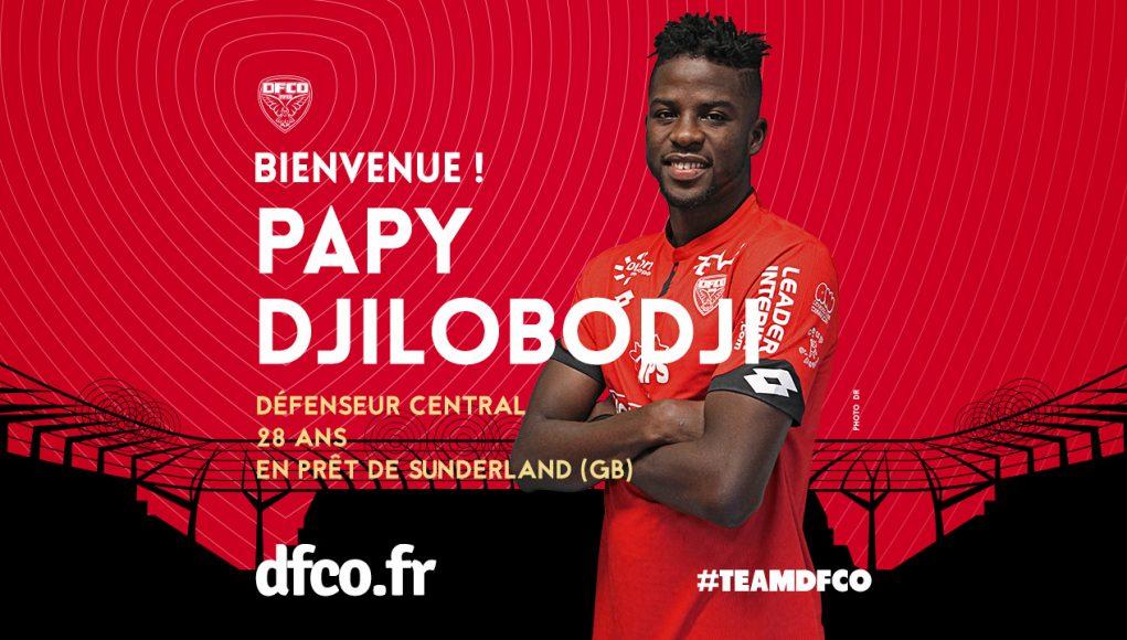 Officiel: Papy Djilobodji prêté à Dijon