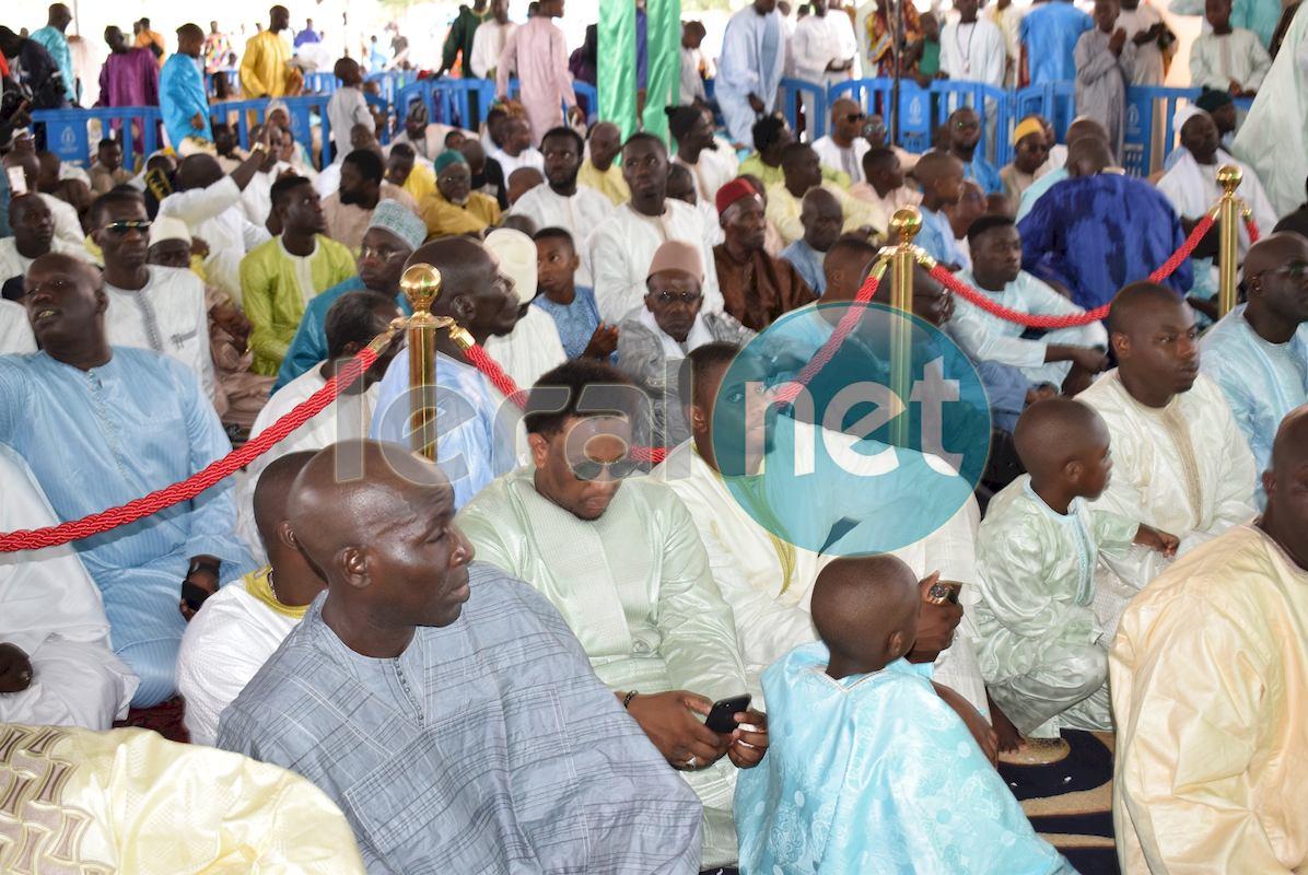 10 Photos: Tabaski 2017/ Prière à la Mosquée Massalikoul Djinane
