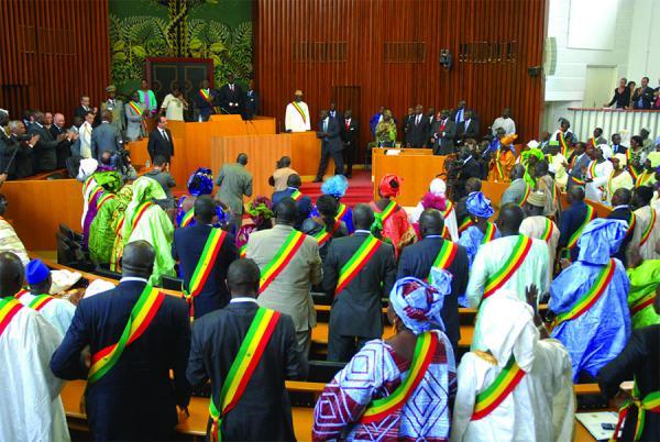 Les députés installés le 14 septembre prochain, (Assemblée nationale)
