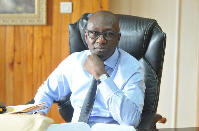 Abdoulaye Diop : ministre de l'Emploi, de l'Insertion profesionnelle et de l'Intensification de la main-d'oeuvre