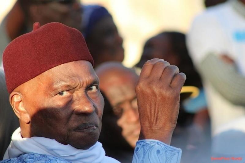 Abdoulaye Wade chez  Khalifa Sall, à Grand-Yoff