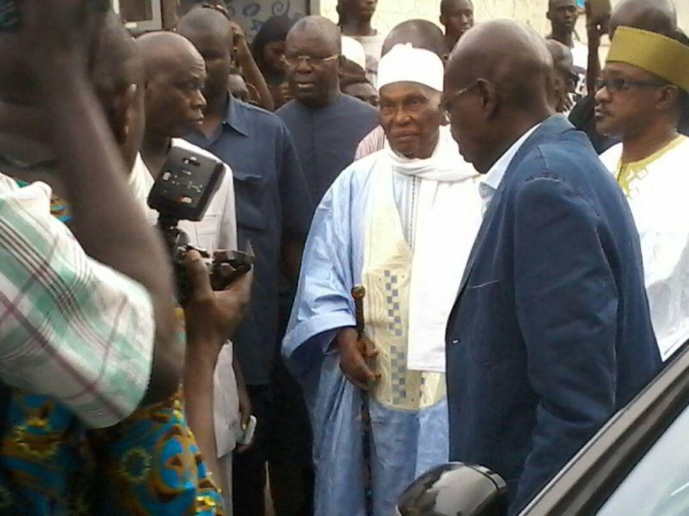 Images: Me Abdoulaye Wade chez Khalifa Sall