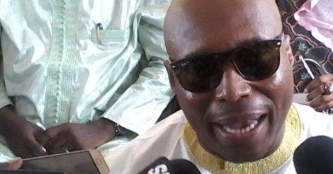Barthélémy Dias en marge de la visite d'Abdoulaye Wade à Grand Yoff au domicile de Khalifa Sall,
