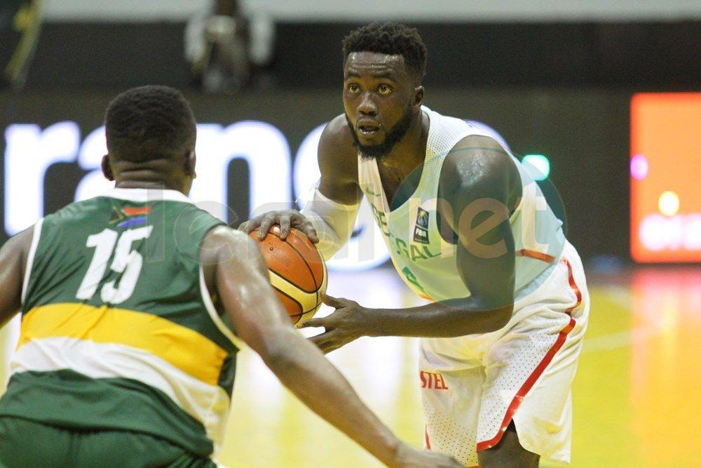 Images : Les temps forts de la rencontre Sénégal/Afrique du Sud de l'Afrobasket masculin 2017