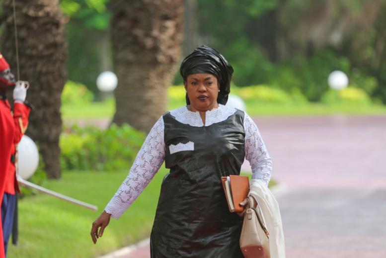 La nouvelle ministre de la Femme, de la Famille et du Genre, Ndèye Saly Diop Dieng.