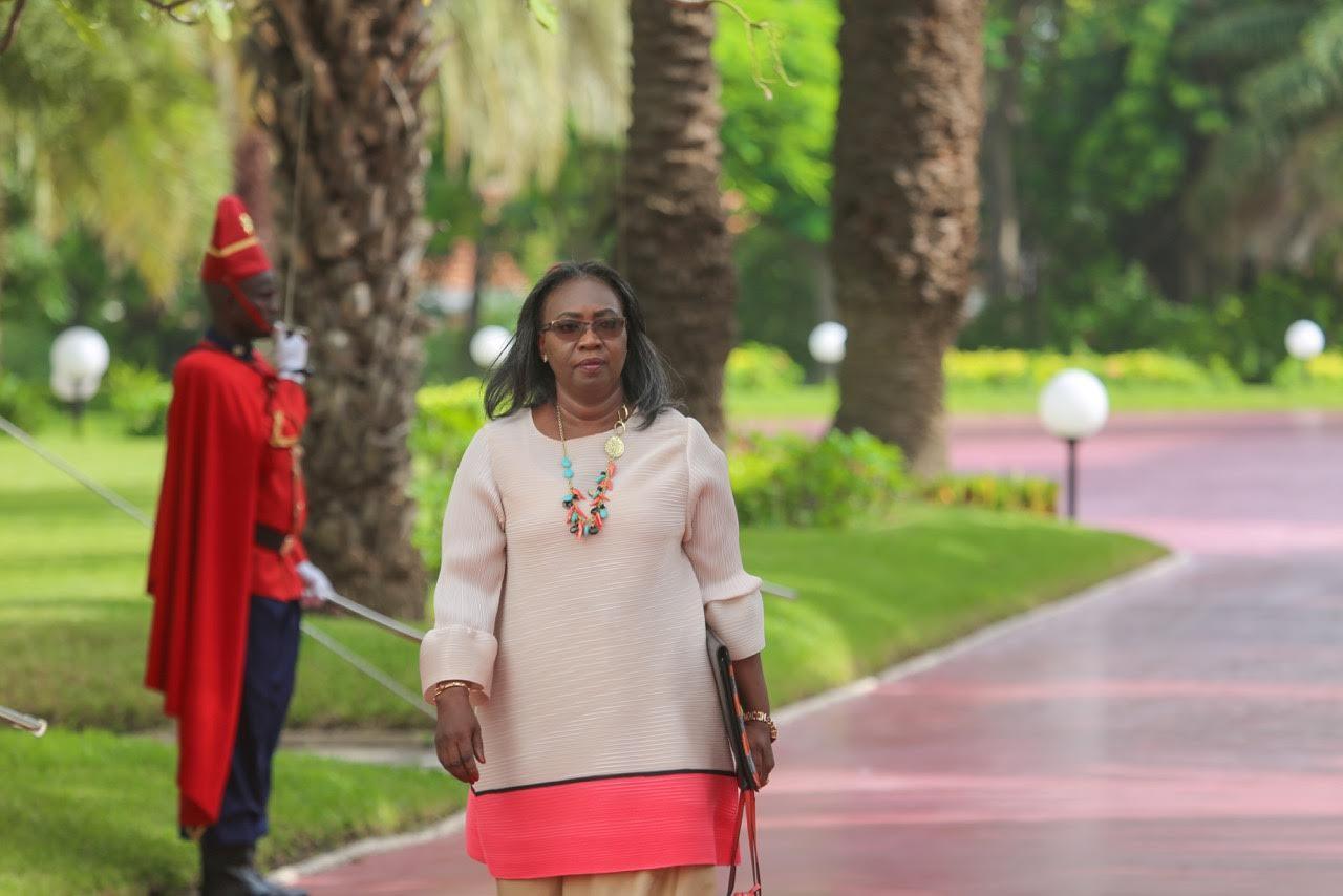 Aissatou Sophie Gladima Siby, ministre des Mines et de la Géologie