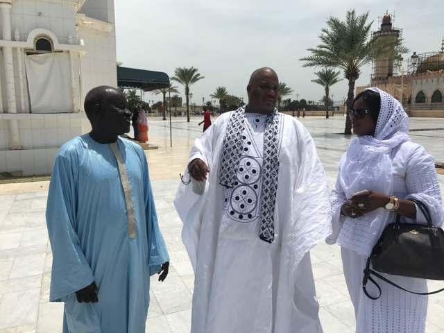La journaliste gambienne, Fatou Camara fait acte d'allégeance à Serigne Bass Abdou Khadre