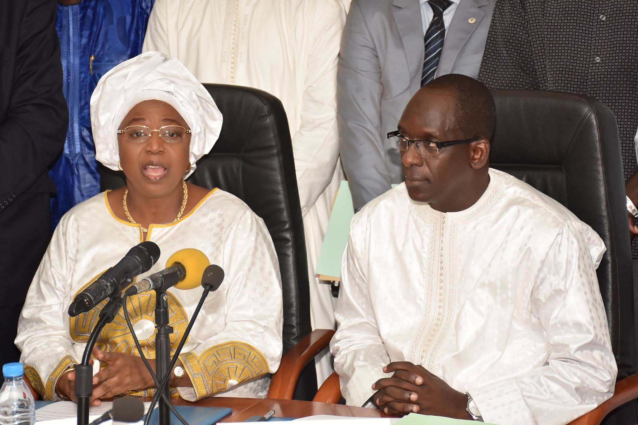 Passation de service : Abdoulaye Diouf Sarr rend un hommage mérité au ministre de la Santé sortant, Eva Marie Coll Seck