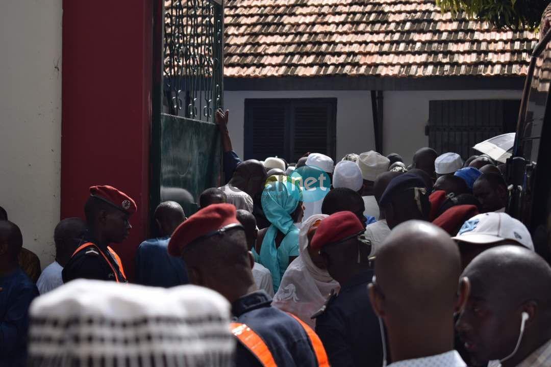 Les images de la levée du corps de Djibo Kâ à Dakar