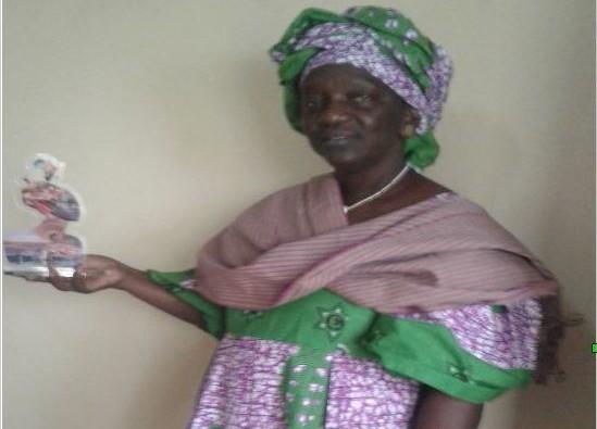 Riziculture : Le trophée de « Woman of courage award » décerné à Mme Korka Diaw
