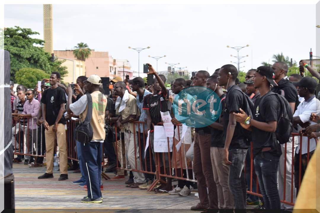 Images- Sénégal: Forte mobilisation contre le franc CFA