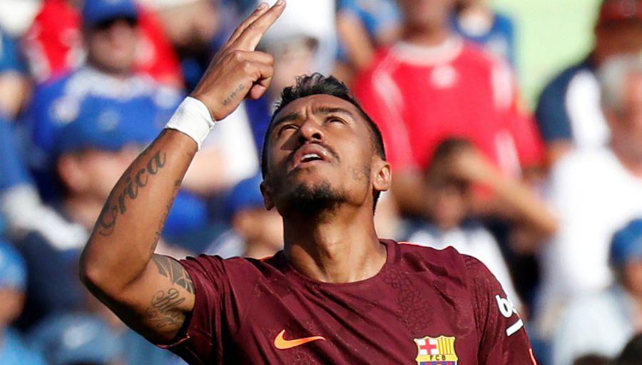 Getafe vs Barça (1-2):  Paulinho, taille sauveur pour les Catalans
