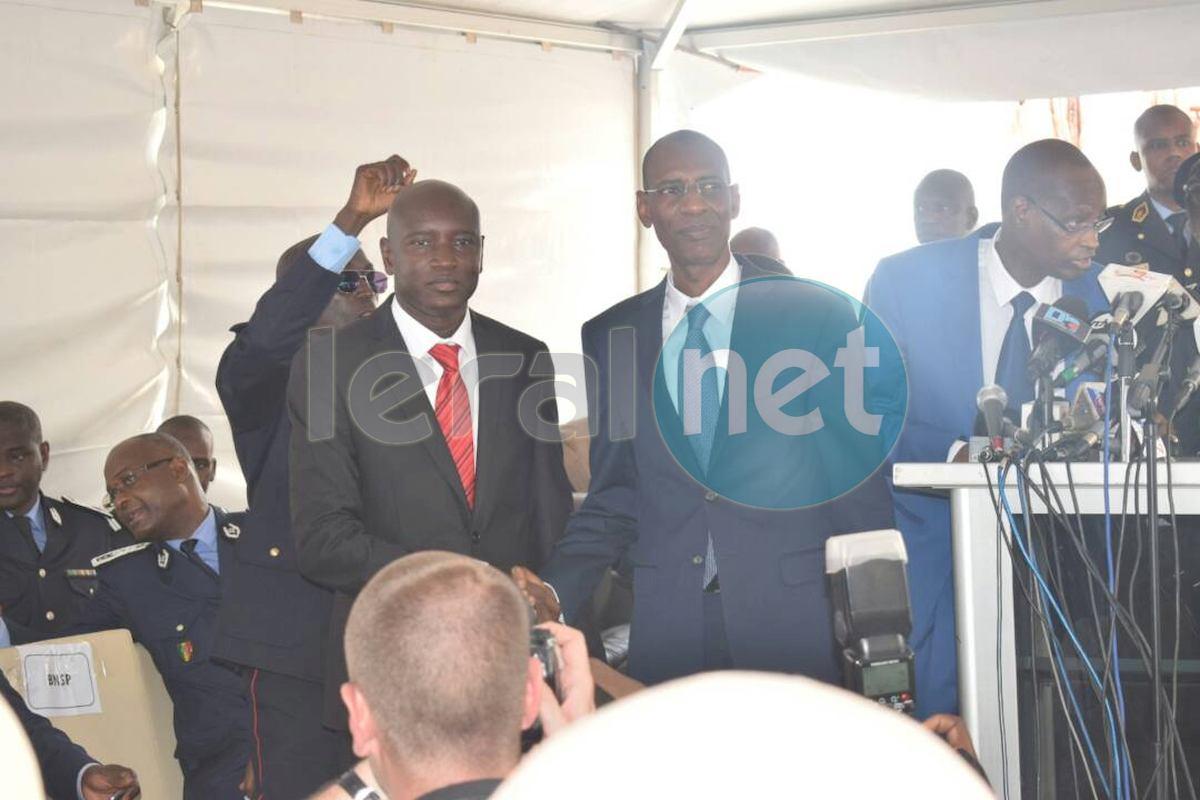 19 photos : Cérémonie de passation de service au ministère de l'intérieur