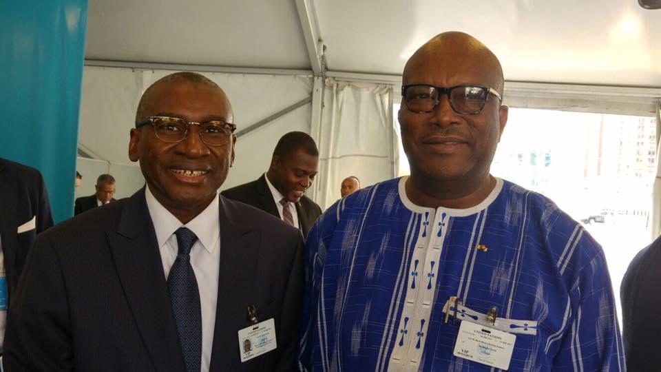 Photos-ONU: Me Sidiki Kaba à fond dans la diplomatie