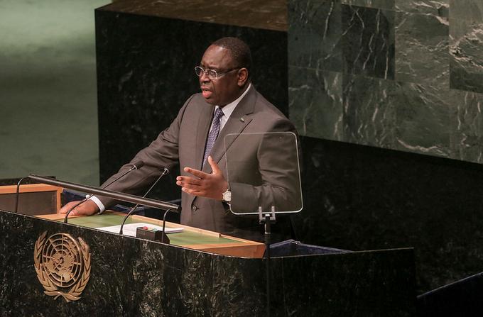 """Le Président Macky Sall : """"Le financement de l'éducation comme rempart contre l'extrémisme"""""""