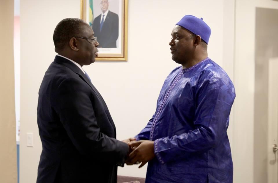 72e Session ordinaire de l'AG des Nations Unies : Macky Sall a rencontré Adama Barrow