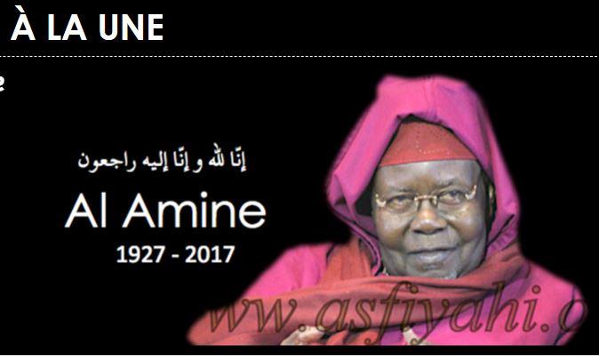 Macky Sall: « La Nation vient de perdre Serigne Abdou Aziz Sy Al Amine, un de ses remparts les plus solides, un chantre infatigable de l'unité nationale, de la cohésion sociale et de la paix des cœurs »