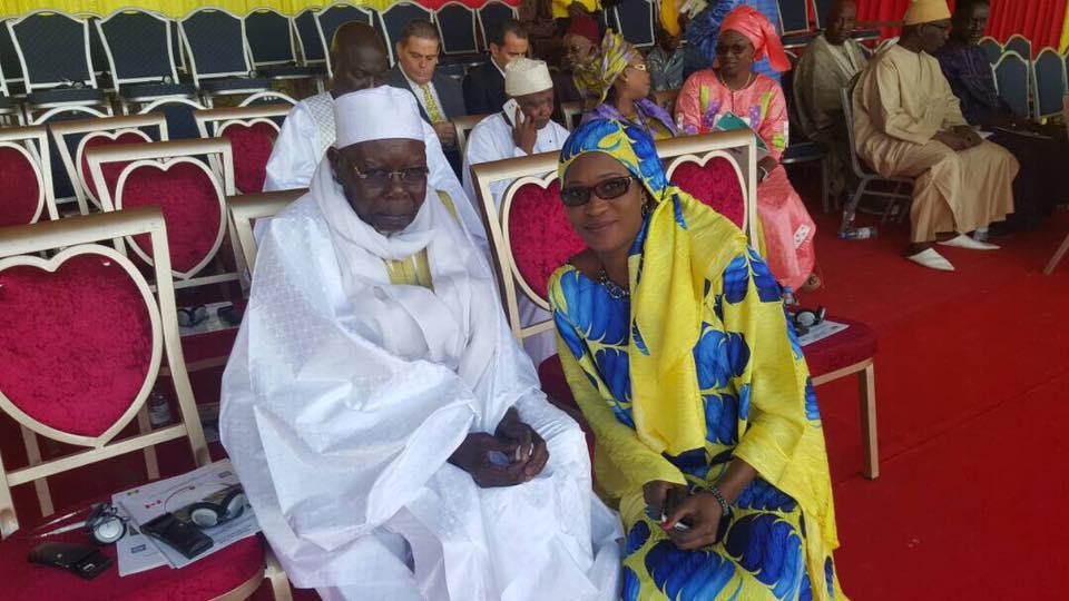 """Zahra Iyane Thiam : """"Que Dieu Le Miséricordieux accueille Abdoul Aziz Sy Al Amine au Paradis"""""""