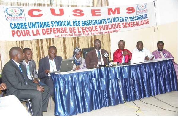 Le CUSEMS regrette et dénonce la duplicité et le manque de volonté politique du gouvernement