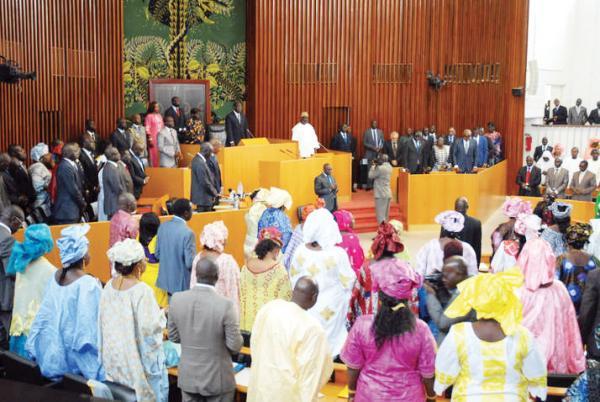 Rappel à Dieu de Al Amine:  l'Assemblée nationale observe le  deuil